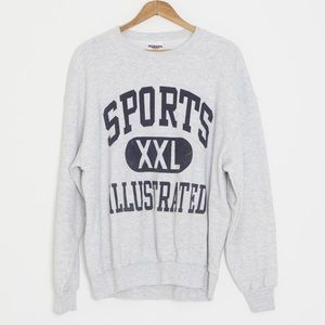 '90s Sports Illustrated heather gray sweatshirt